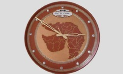 Clay Depict Wall Clock
