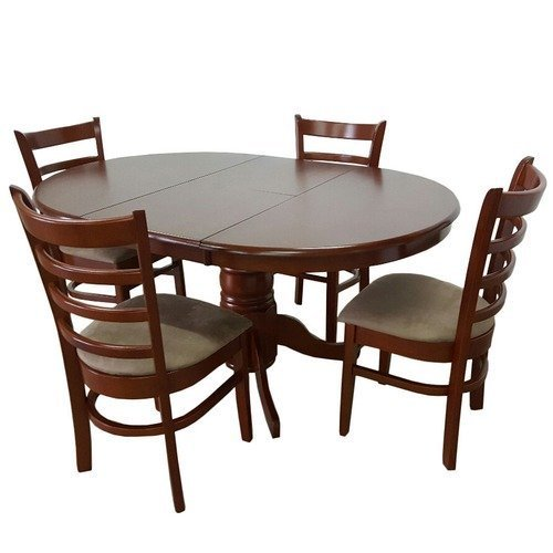 Mahalaxmi Art Brown 4 Seater Dining Table Set Rs 25000 Set Mahalaxmi Art Id 18505701791