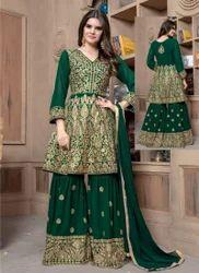 Plus Size Readymade Sharara Salwar Suit