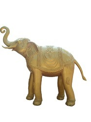 Welcome Elephant - In Golden Color