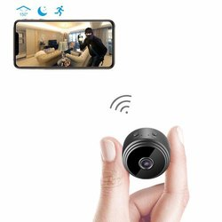 HD 1080P Indoor Home Small Spy Cam