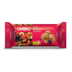 Unibic Fruit and Nut Cookies, Packaging Type: Packet