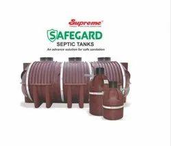 Supreme Safegard Septic Tank