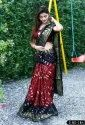 Heavy Bandhani Ladies Indian Wear Saree