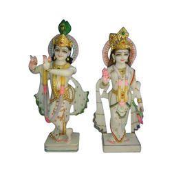 18 Inch Radha Krishna Statues