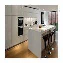 High Gloss Acrylic Modular Kitchen