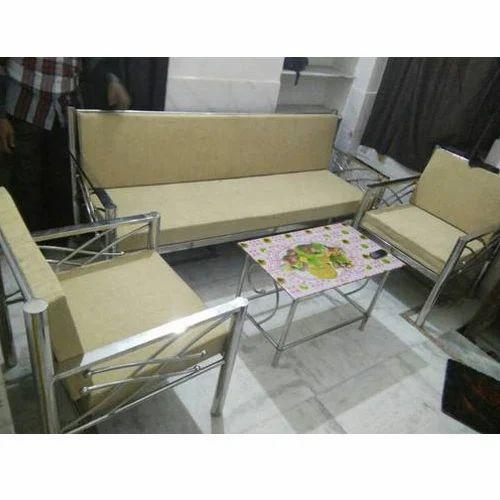 Designer Steel Sofa Set At Rs 32000 Piece Steel Sofa Id 15194692488