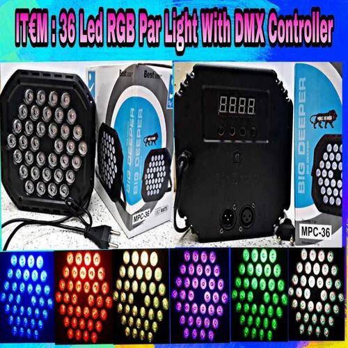 36 Led Rgb Par Light With Dmx Controller