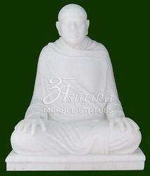 Marble Kanji Swami Statue