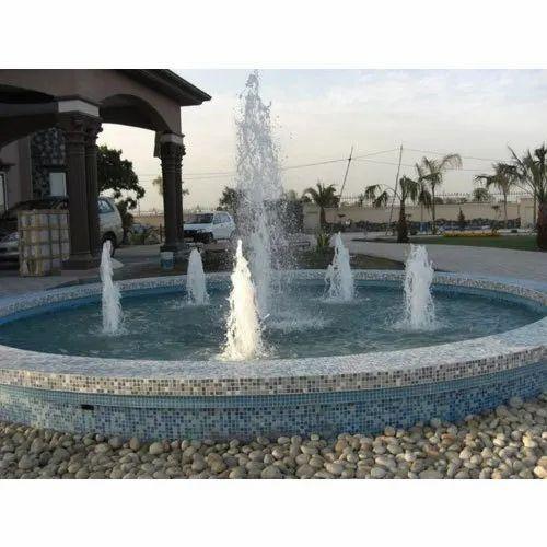 Outdoor Geyser Jet Fountain