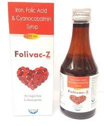 Iron Folic Acid And Cyanocobalmin Syrup