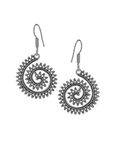 fa3bca82a Oxidized Earrings - Oxidized Silver Bohemian Earrings Manufacturer ...