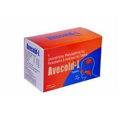 Levocetirizine Phenylephrine Paracetamol Ambroxol Tablets
