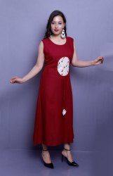 Rayon Double Layer Kurti
