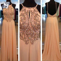 Beaded Ladies Gown