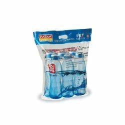 Ratan Three Colours PET Bottle Set, Capacity: 1 Litre, Packaging Type: Packet