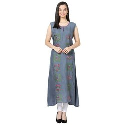LKAAAF-21C Round Neck Ladies Kurti
