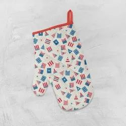American Patterns Printed Oven Gloves