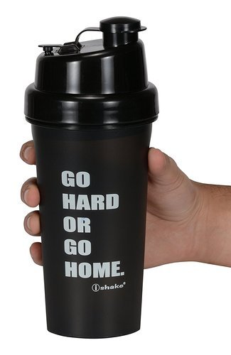 I Shake Various Colors Hercules Black Shaker Bottles, Capacity: 500 Ml, Packaging Type: Carton Package