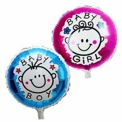 Boy Girl Foil Balloons
