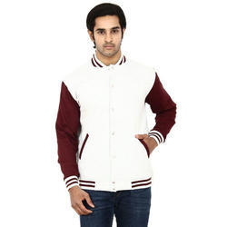 Full Sleeve Cotton Mens White Jacket, S And XXL