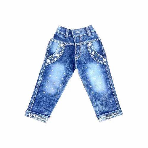 5bf8ba0823 Denim Party Wear Fancy Kids Jeans