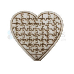 Heart Wooden Puzzle