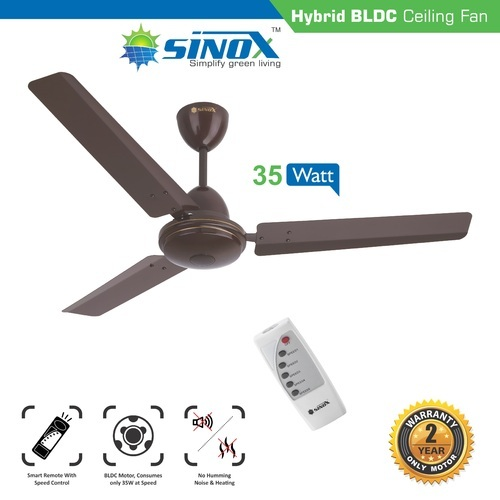 Hybrid Bldc Ceiling Fan 12v Dc And 220v Ac Brushless Dc