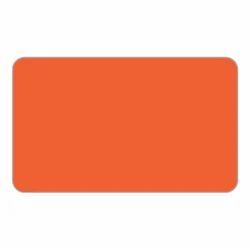 Orange Aluminium Composite Panel (ER 118)