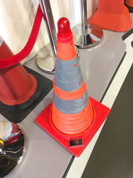Solar Traffic Safety Cone Dark Eye