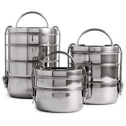 Stainless Steel Light Weight Clip Tiffin Box