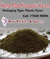 Home Made Spicy Karvepaku Kaaram, Packaging Type: Box, Packaging Size: 200g