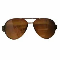 Brown Regular Aviator Baby Sun Glasses