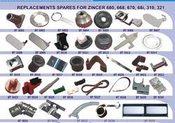 Replacement Spares for Zincer