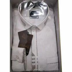 Stone Mens Cotton Formal Shirt