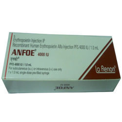 Recombinant Human Erythropoietin Alfa Injection PFS 4000 IU