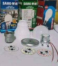 Sang-win 7-9 Color LED Bulb, For Home, Normal