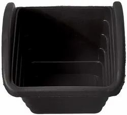 Manoj Plastic Black Vertical Garden Pot, For Wall Decor