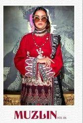 Cotton Party Wear Muzlin Vol 6 Deepsy Salwar Kameez