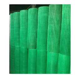 Green PVC Coated Wire Mesh, Thickness: 0.38 mm