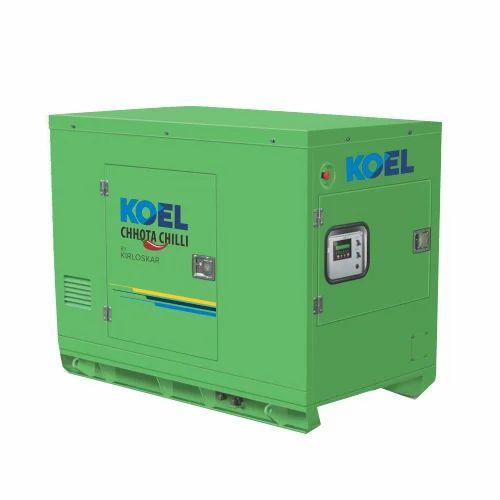 Kirloskar And Eicher Single Phase, Three Phase Koel Diesel Generator, 415 /  220 V