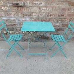 Metal Bistro Set for Restaurant