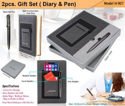 2pcs.Gift Set (Diary & Pen) H-907