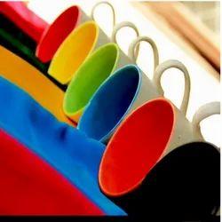 Multi Color Ceramic Coffee Mug