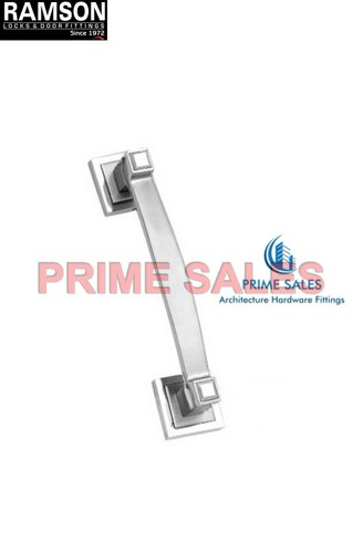 Chrome Finish Stainless Steel D Pull Handle, Size: 10-12 Inch, For Door Fitting