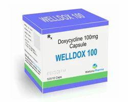 Welldox-100 Doxycycline 100mg Capsules