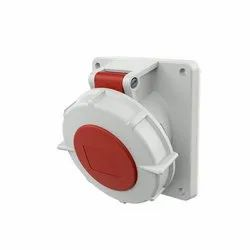1479 Panel Mounted Industrial Socket Receptacle