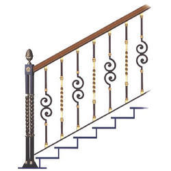 Modern Stairs Grills At Rs 250 Square