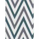 Zig Zag Cotton Printed Fabric, Gsm: 150-200