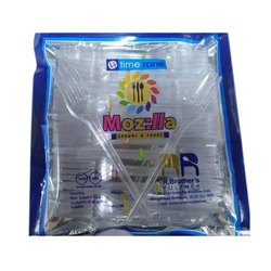 100 Pieces Time Zone Disposable Plastic Fork for Event and Party Supplies, Size: 5 Inch